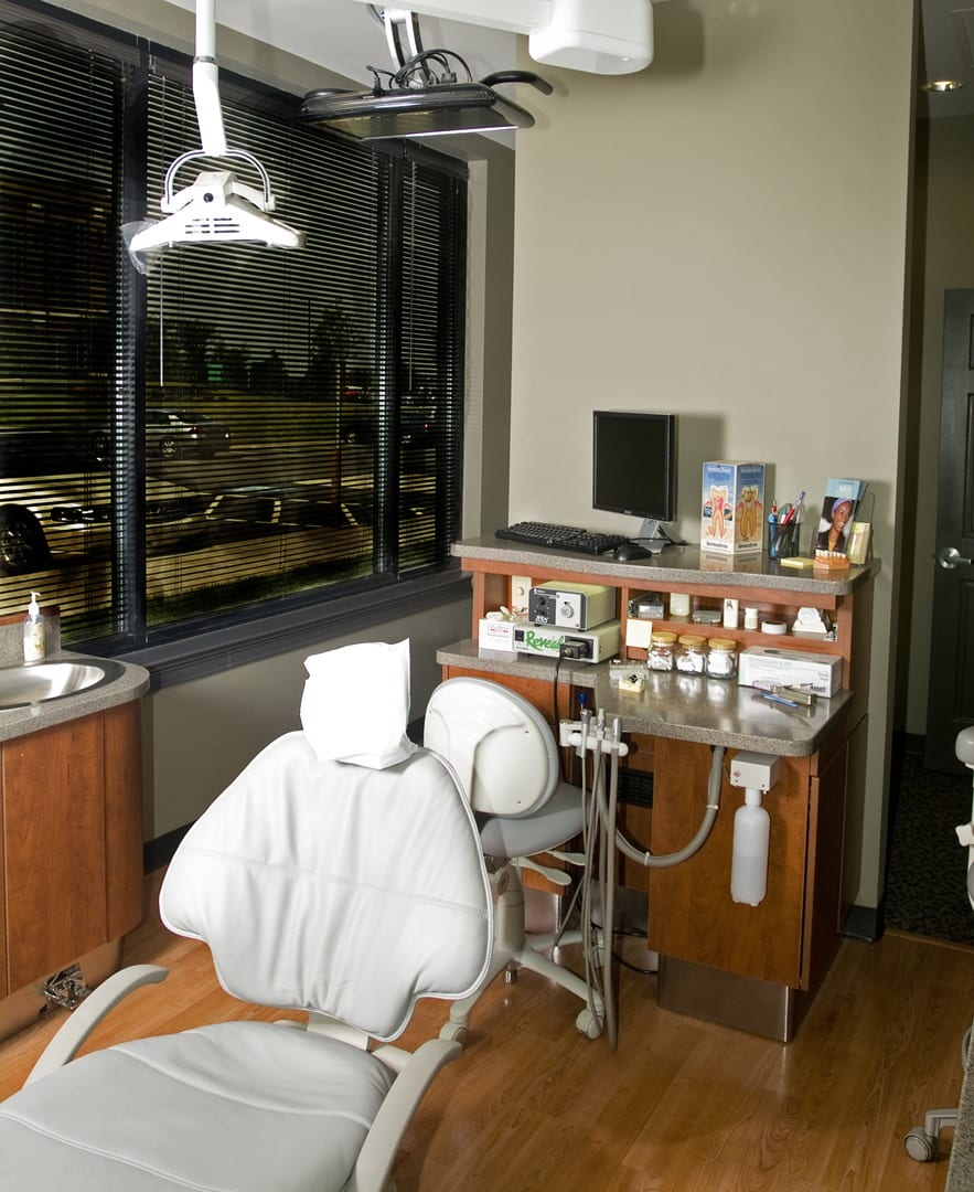 Exam room at David P. Marion DDS PC.
